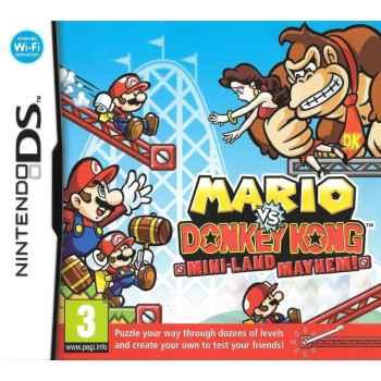Mario vs Donkey Kong Parapiglia a Minilandia - Nintendo DS [Versione Italiana]