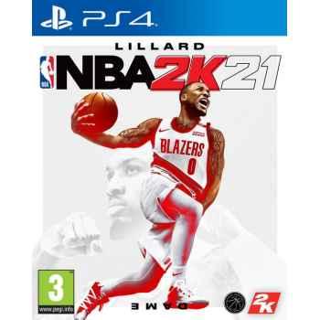 NBA 2K21- PS4 [Versione EU Multilingue]
