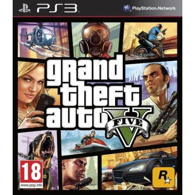 GTA V  - PS3 [Versione Inglese Multilingue]