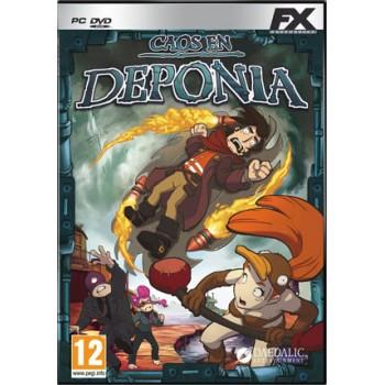 Caos a Deponia  (Non Sigillato) - PC GAMES [Versione Italiana]