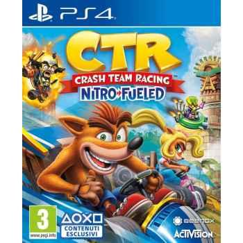 Crash Team Racing Nitro-Fueled  - PS4 [Versione EU Multilingue]