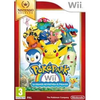 Pokepark Wii: La Grande Avventura Di Pikachu - WII [Versione Italiana]