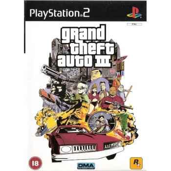 Grand Theft Auto III – PS2 [Versione Italiana]