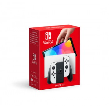 Nintendo Switch (OLED) - White [Console Italiana] (PRODOTTO SOGGETTO AD ALLOCAZIONE)