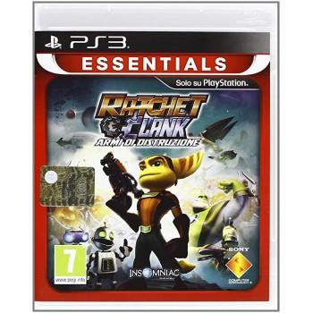 Ratchet & Clank: Armi di Distruzione (Essentials) - PS3 [Versione Inglese Multilingue]