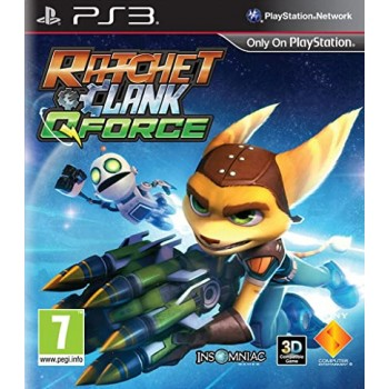 Ratchet & Clank: QForce - PS3 [Versione Inglese Multilingue]