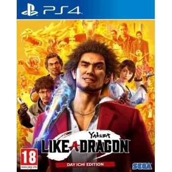 Yakuza: Like a Dragon - Day One Edition  - PS4 [Versione EU Multilingue]