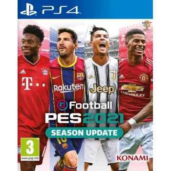 eFootball PES 2021 - SEASON UPDATE -  PS4 [Versione EU Multilingue]