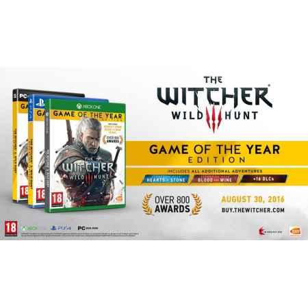 The Witcher 3: Wild Hunt GOTY Edition- PS4 [Versione Italiana]
