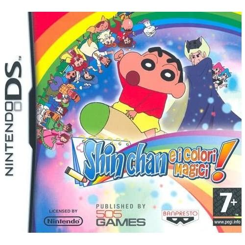 Shin Chan E I Colori Magici - Nintendo DS [Versione Italiana]