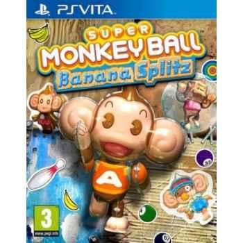 Super Monkey Ball: Banana Splitz - PSVITA [Versione Italiana]
