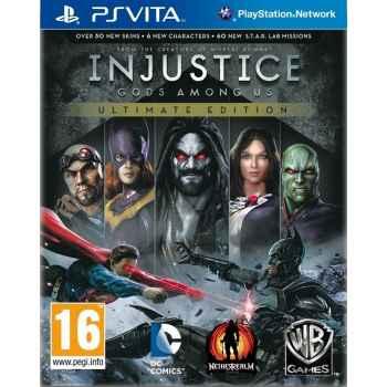 Injustice Gods Among Us: Ultimate Edition- PSVITA [Versione Italiana]