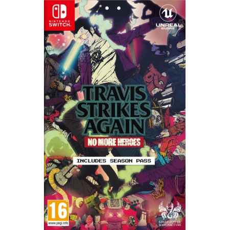 Travis Strikes Again: No More Heroes + Season Pass - Nintendo Switch [Versione EU Multilingue]