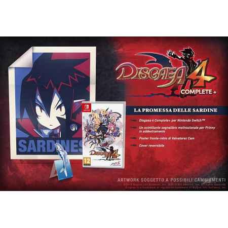 Disgaea 4 Complete+: A Promise of Sardines Edition - Nintendo Switch [Versione Italiana]