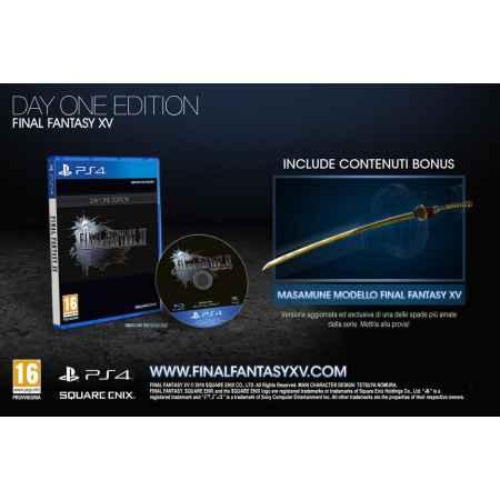 Final Fantasy XV (15) - Day One Edition - PS4 [Versione Italiana]