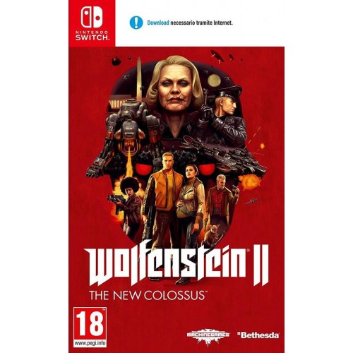 Wolfenstein II (2): The New Colossus - Nintendo Switch [Versione Italiana]