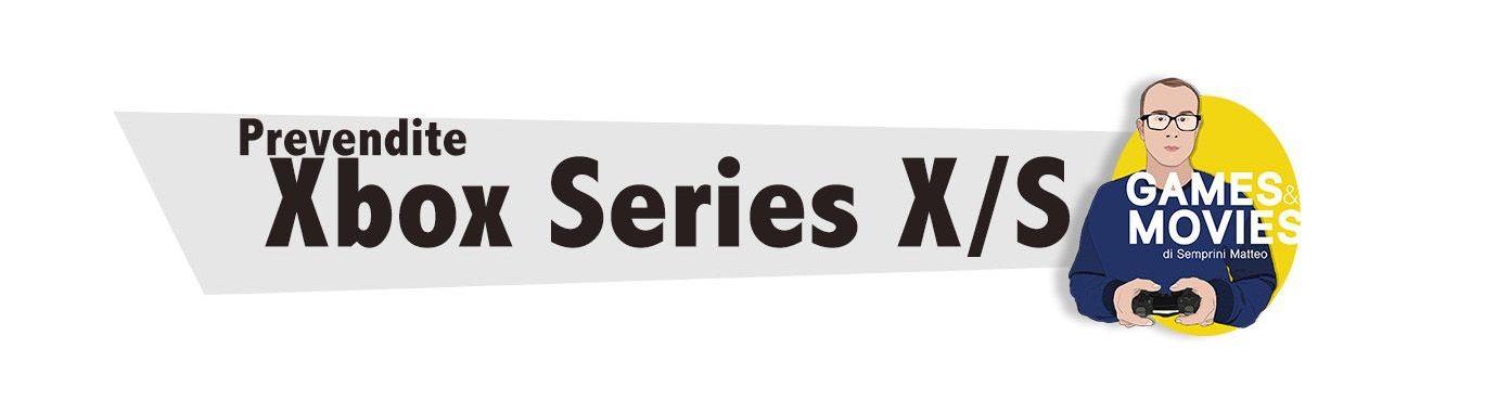 Prevendite Xbox Series X