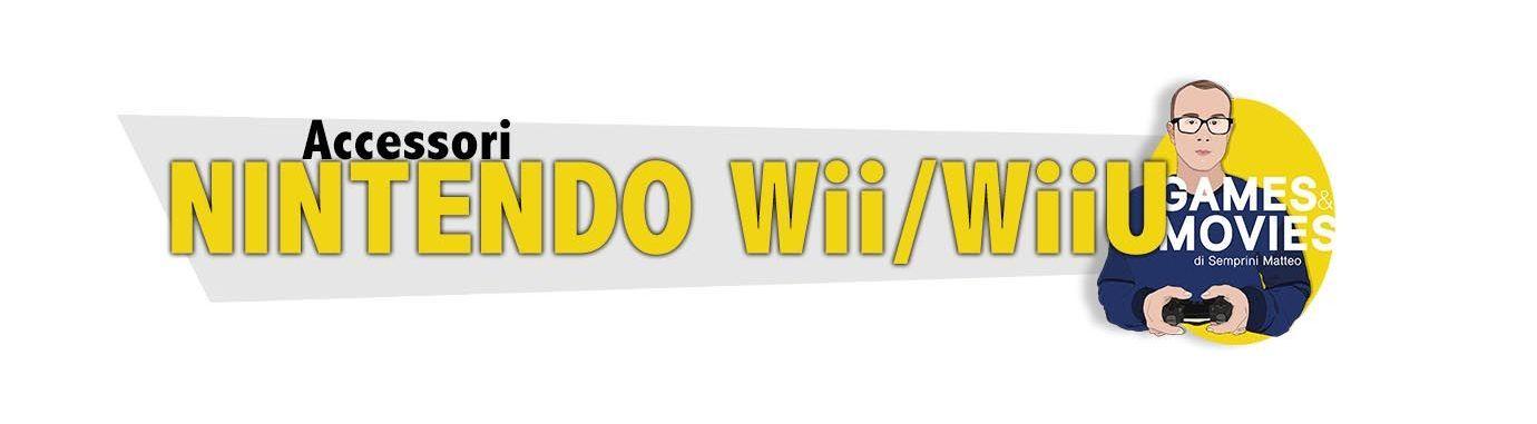 Accessori Nintendo WII e WIIU