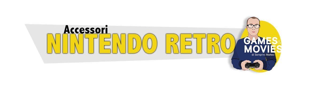 Accessori Retrogaming Nintendo