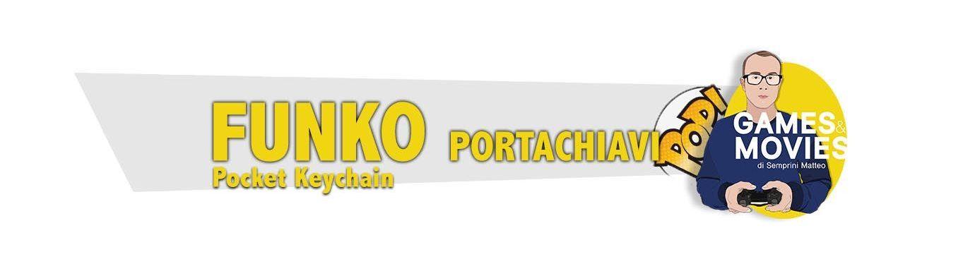 Funko Pocket Keychain (Portachiavi)